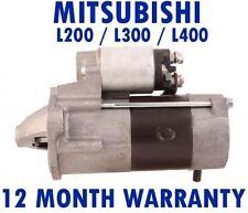 MITSUBISHI - L200/L300/400 2.5 4WD 1996 1997 - 2007 RMFD STARTER MOTOR