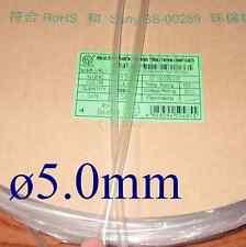 Heat Shrink Tubing Tube Diameter 5mm x 2m/6FT @Clear