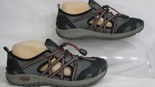 Chaco Kid's J180201 'OutCross' Grey/Red Running Shoe Youth Size 4