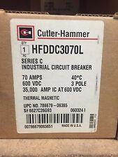 HFDDC3070L NEW IN BOX 3P 70A CB LN&LD LG