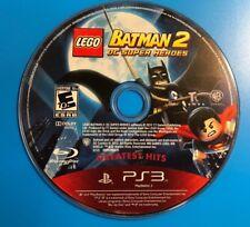 LEGO Batman 2: DC Super Heroes (Sony PlayStation 3, 2012) DISC ONLY 11405