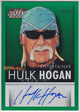 "2015 PANINI AMERICANA AUTO: HULK""HOLLYWOOD"" HOGAN #8/25 AUTOGRAPH WRESTLING ICON"