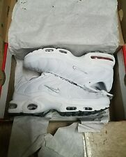 nike air max plus tn all white size 8 for $500