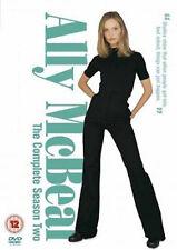 ALLY MCBEAL COMPLETE SERIES 2 DVD Second Season Calista Flockhart UK Rele New R2