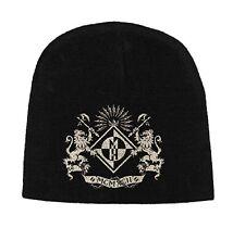 Machine Head Beanie Hat Cap band logo Crest new Official black jersey print
