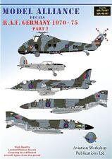 Model Alliance 1/72 RAF Germany 1970-75 Part 2 # 72187