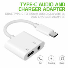 Type C Audio & Charger Adapter 3.5mm Converter- Samsung Note 10 9 Galaxy S20 S10