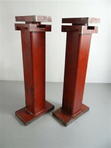 """PAIR OF HEAVY DUTY MACHINISTS JACK STANDS 18"""" TO 30"""" HEIGHT RANGE"""