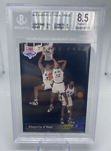 1992 93 UPPER DECK #1B SHAQUILLE ONEAL RC TRADE BGS 8.5