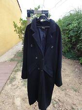 manteau pur laine noir la redoute taille 40