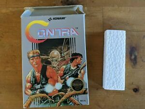 Contra by Konami for Nintendo Entertainment System NES - BOX & FOAM ONLY