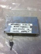 MEANWELL S-60-24 POWER SUPPLY