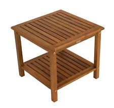 Beistelltisch Kaffeetisch Gartentisch Holztisch Tisch ST. VINCENT 50x50cm Holz