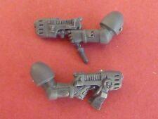 Blood Angel Marine DEATH COMPANY 2 X PLASMA GUNS - Bits 40K