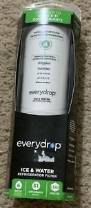 EveryDrop by Whirlpool Refrigerator Water Filter 4 EDR4RXD1 Green Pack of 1