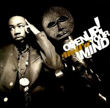 "12"" - MC Mell'o' - Open Up Your Mind (Hip Hop, Rap) UK EDIT. 1990, MINT, NUEVO"