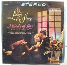 Living Strings - Melody of Love - RCA CAMDEN CAS 830 - FACTORY SEALED