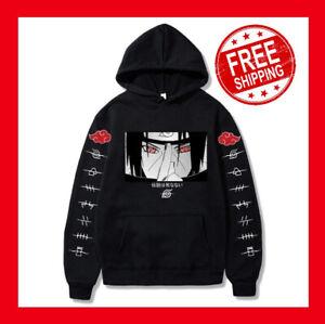 Uchiha Itachi Hoodie Naruto figure Unisex Sweatshirt Cosplay hooded Cool Print