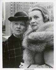 HELEN HAYES MILDRED NATWICK PORTRAIT THE SNOOP SISTERS ORIGINAL '73 NBC TV PHOTO