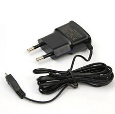 Cargador de pared universal usb Negro para movil smartphone cable micro usb