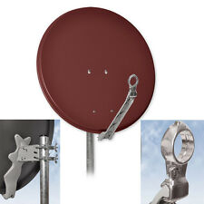 DIGITALE HD PARABOLA SATELLITARE ANTENNA ALLUMINIO Dur-Line 75 Select Rosso