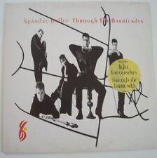 "SPANDAU BALLET ""Through the barricades"" (Vinyl 33t/LP)"