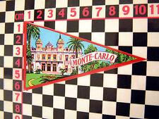 1960's Monte Carlo pegatina de cristal Citroen 2cv Dyane Ds19 Ds Ami 8 Renault Matra