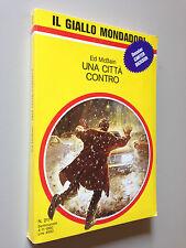 Ed McBAIN - UNA CITTA' CONTRO , Giallo Mondadori n. 2179 (1990)