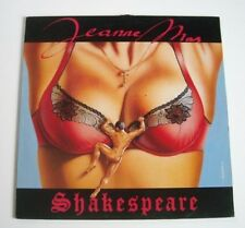 "Jeanne MAS ""Shakespeare"" (Vinyl Maxi 45t/EP) 1990"