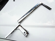 1955 Ford Victoria Mercury Montery HT VENT WINDOW POST Chrome Frame Fairlane 55