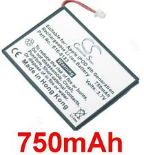 Battery 750mAh type 616-0206 616-0215 A1059 A1099 for Apple iPod 4th/ Photo
