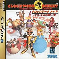 (Used) Sega Saturn Clockwork Knight: Pepperouchou's Adventure Vol.1 Japan Import