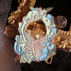 Card captor Sakura Sailor Moon Tsukino Usagi Metal Pin Badge Brooch Limited