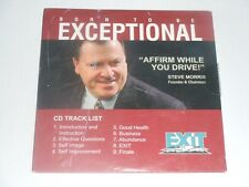 NEW CD Born To Be EXCEPTIONAL Affirm While You Drive by Steve Morris Exit Realty