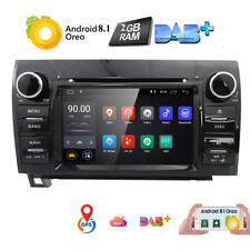For Toyota Tundra Android 8.1 Car Stereo GPS Navi DVD Radio Head unit DAB TPMS~