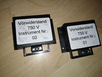 Vorwiderstand 750 Volt ca.7x6x2 cm Neuware