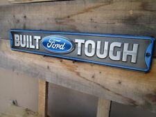 BUILT FORD TOUGH  Display Shop DELUXE STANDARD HOT ROD MUSTANG F150 TRUCK EMBLEM