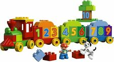 Lego Duplo My First Number Train Set 10558 - Discontinued - 100% Complete