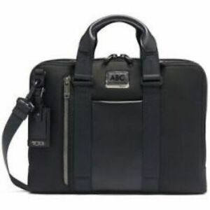 Men's Tumi Alpha Bravo Aviano Slim Briefcase BLACK  $395