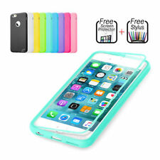 Silicone/Gel/Rubber Mobile Phone Flip Cases for iPhone 6