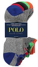 Polo Ralph Lauren Crew Sport Socks 6-Pack
