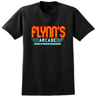 Flynn's Arcade Tron Inspired T-shirt - Retro 80s Gaming Movie Film