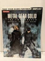 2004 Metal Gear Solid Twin Snakes Official Strategy Guide Rick Barba Brady  J4