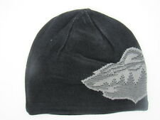 Minnesota Wild Men's Black Reversible Reebok Cuffless Knit Hat