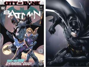 BATMAN #77 COVERS A & B 2 BOOK SET