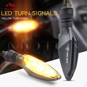 12V Motorcycle Turn Signal Lights LED Decorative Direction Lights Assembly