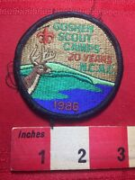 Vtg 1986 GOSHEN SCOUT CAMPS National Capital Area Council Boy Scout Patch 77I2