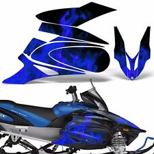 Yamaha APEX Decal Wrap Graphic Kit XTX Part Sled Snowmobile 2006-2011 ICE BLUE