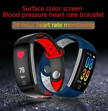 Q6 Smart Watch Bracelet Bluetooth 5.0 Waterproof Heart Rate Blood Pressure Monit