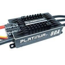 Hobbywing platinum pro 80a v4 ESC 3s-6s bec 5-8v 10a régulateur brosses sans moteur